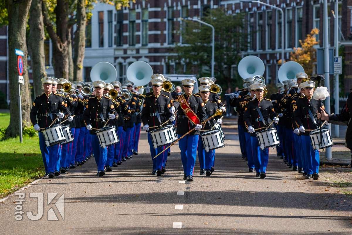 2018 - S&MB tijdens een taptoe in Rijnsburg