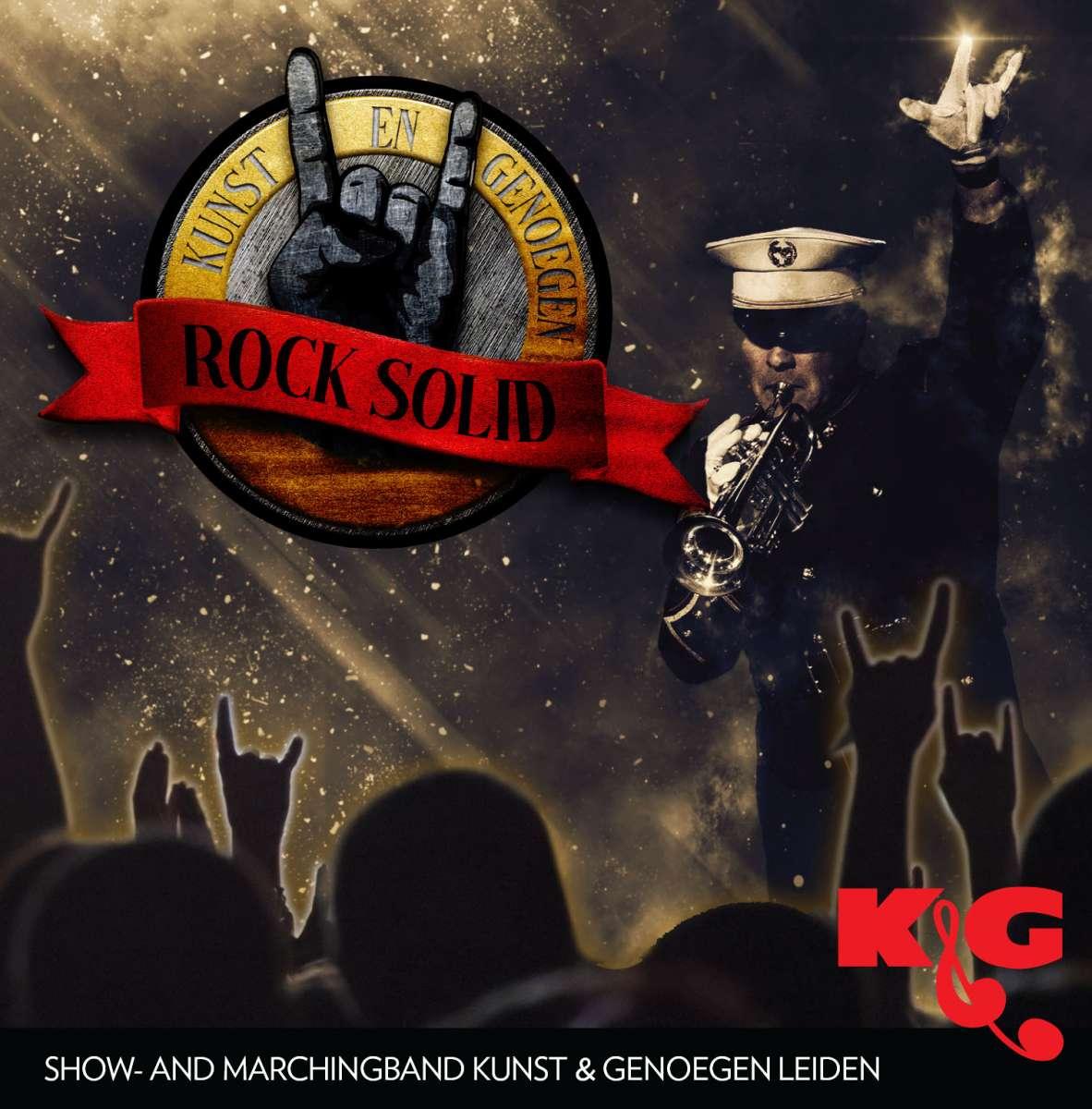 De nieuwe CD Rock Solid is nu te koop via de webshop