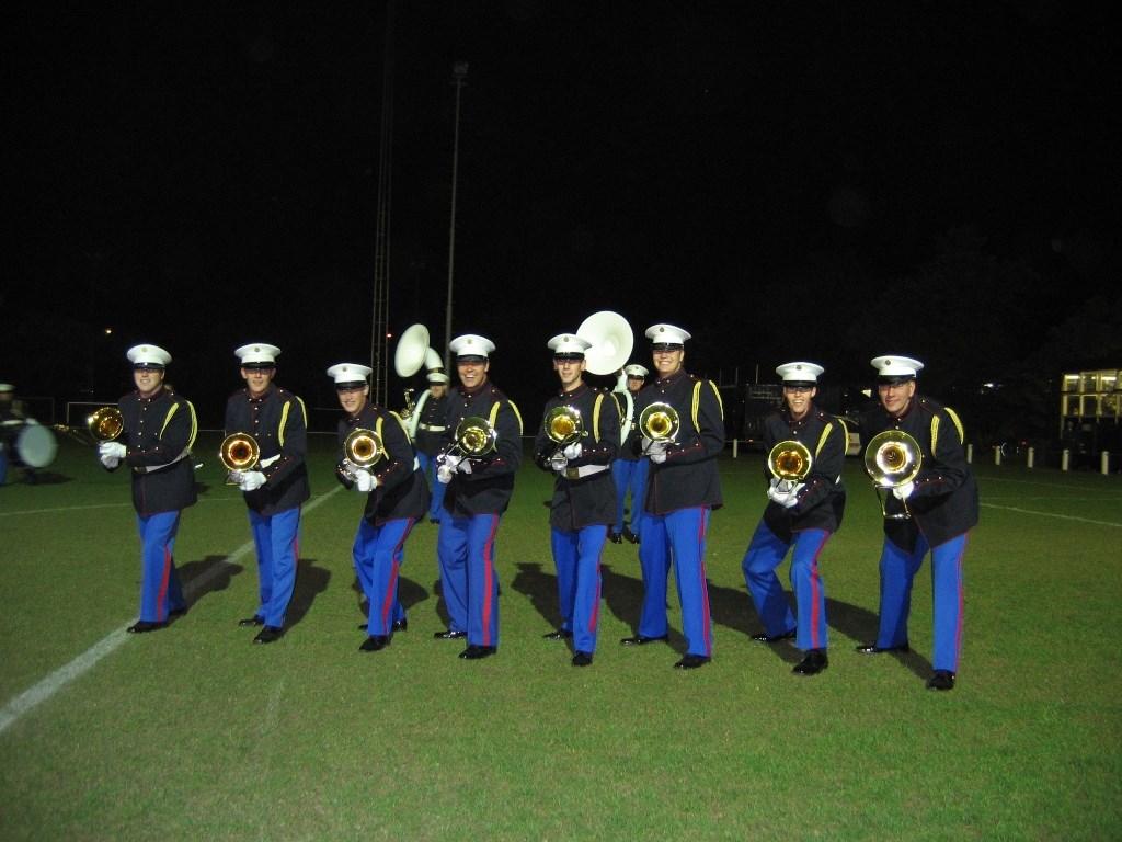 Trombonisten van de S&MB