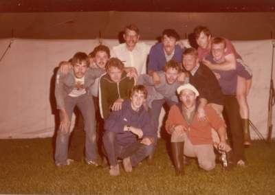1981 - Kampstaf in Schaijk