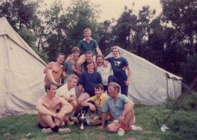 1982 - De complete kampstaf
