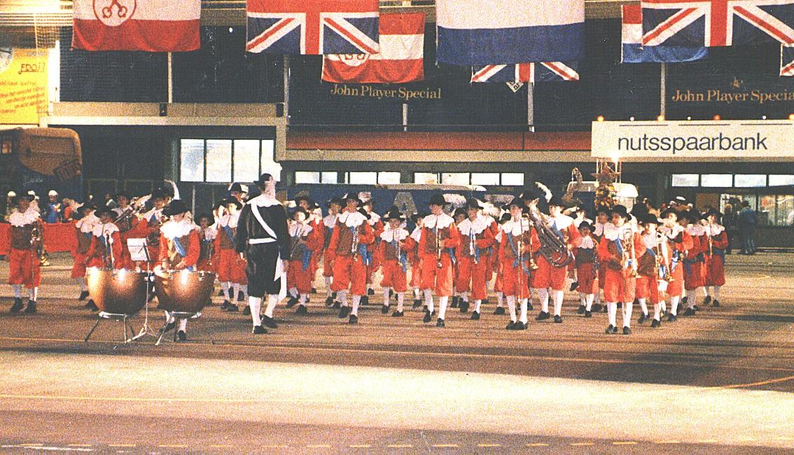 Jong K&G tijdens de Taptade in Leiden (1987)