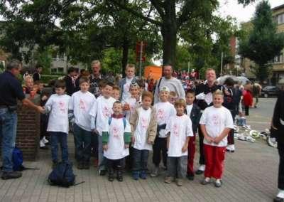 2004 - Leerlingen gaan een dagje mee naar België