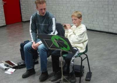 2002 - Een leerling krijgt individueel les